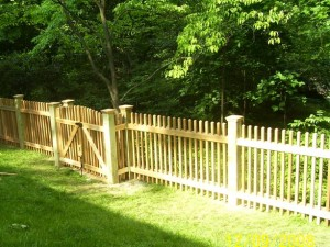 2 x 2 Picket Fence