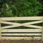 Six Rail Estate Fence