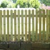 Dog Ear Picket Fence