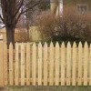 Gothic Picket Fence