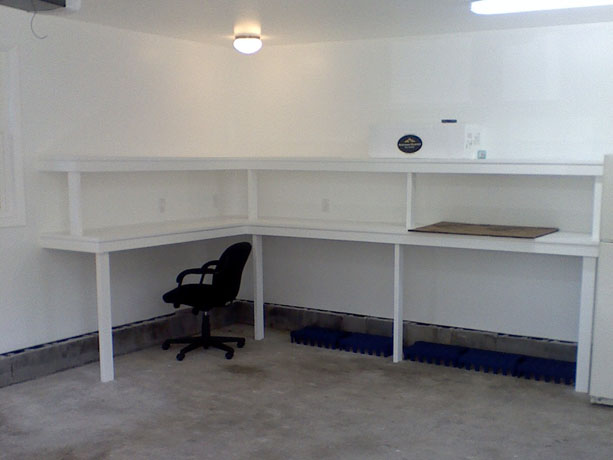 Restoring a detached garage: After the work was completed - Interior Picture