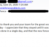 Customer Feedback for Phoenix Fence and Deck